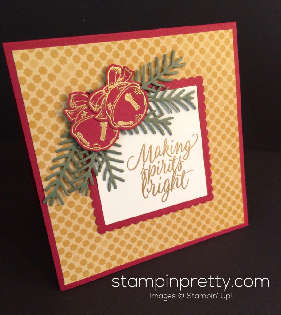 A Christmas Magic Card That Rings A Bell Stampin Pretty