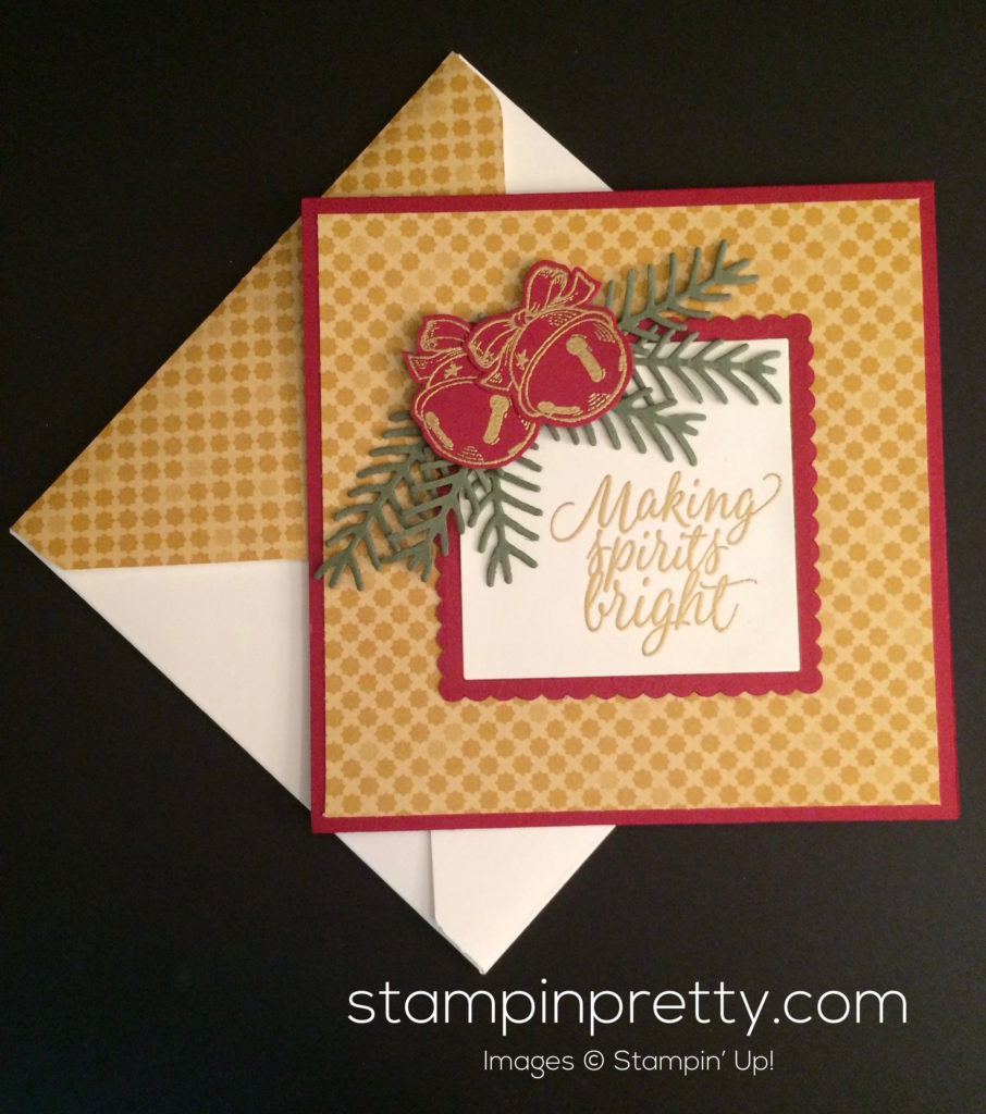 A Christmas Magic Card That Rings a Bell! | Stampin\' Pretty