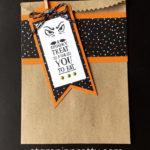 Halloween Jar of Haunts Gift Bag