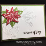 Inspired by Color:  Simple Holiday Card