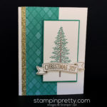 Simple Evergreen Christmas Card!