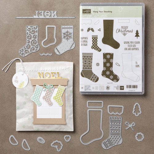 Hang Your Stocking Bundle - Images © Stampin' Up!