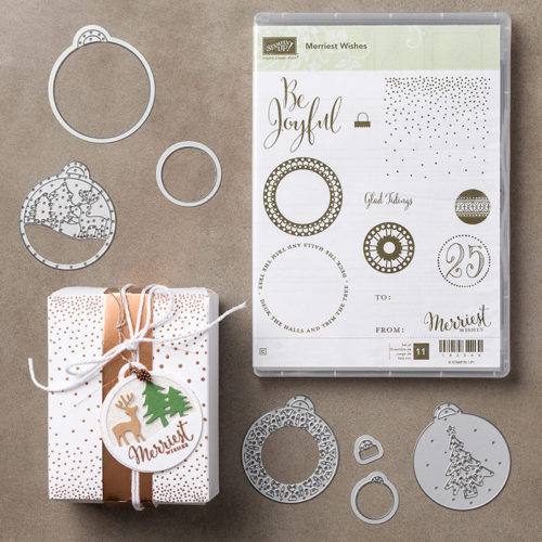 Merriest Wishes Bundle - Images © Stampin' Up!