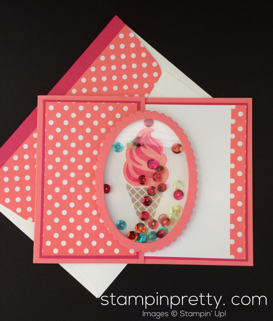 A sneak peek of cool treats mary fish stampin 39 pretty for Mary fish stampin up
