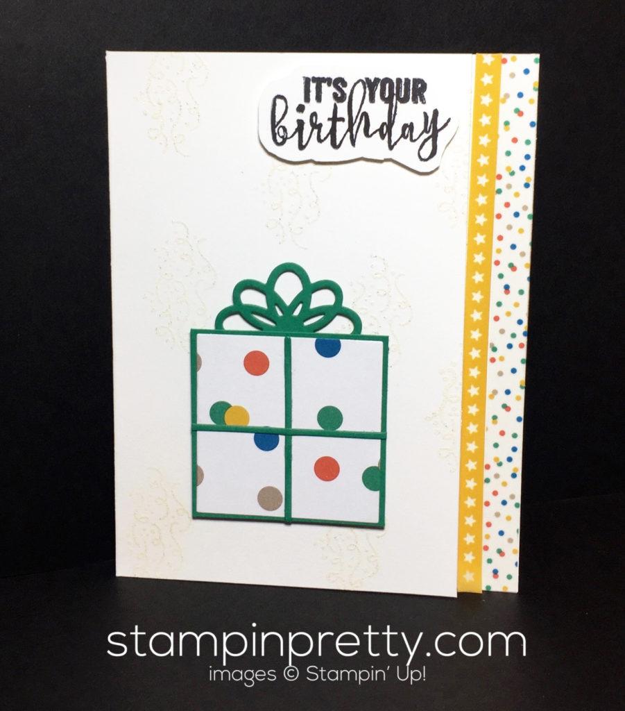 super simple balloon adventures birthday card stampin pretty
