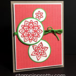 Inspired By Color & Stampin' Up! Flourish Thinlits Dies