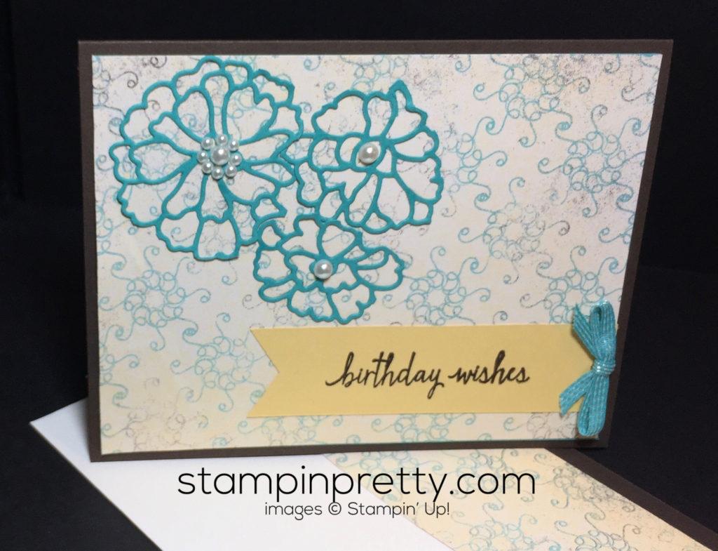 Free Dsp Color Chart Sneak Peek Birthday Card Stampin Pretty