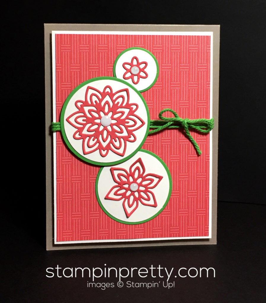 Inspired by color stampin 39 up flourish thinlits dies for Mary fish stampin up