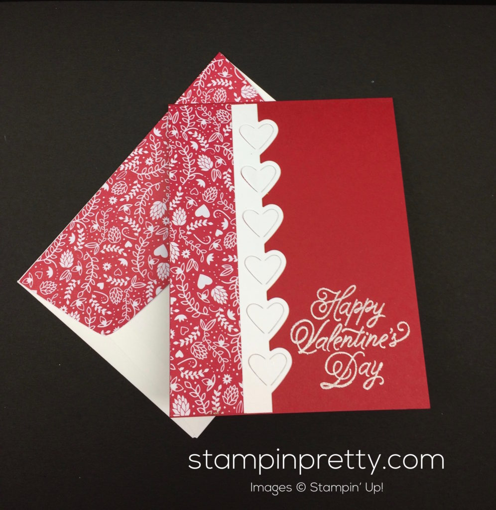 stampin up sealed with love valentine cards idea