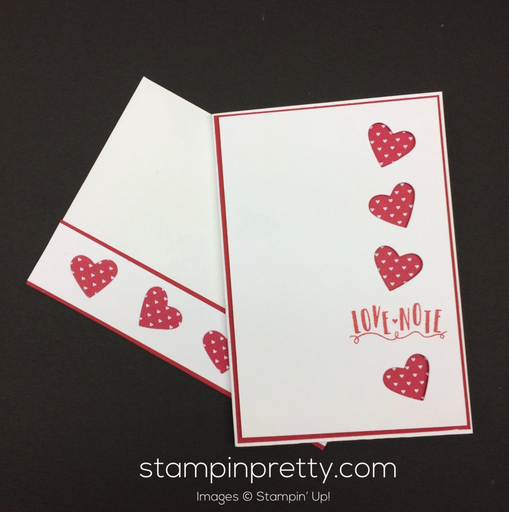 stampin up sealed with love valentine cards idea - Stampin Up Valentine Card Ideas