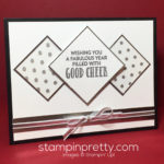 3 Cheers for Stampin' Up! Stitched with Cheer!