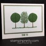 Stampin' Up! Totally Trees Thank You Card