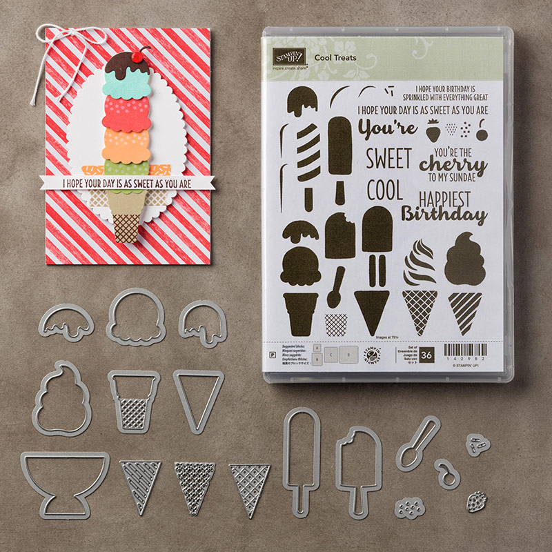Stampin Up Cool Treats Birthday Card – Cool Designs for Birthday Cards