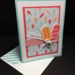 Stampin' Up! Cool Treats Birthday Card