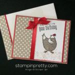 "Adorable ""Hey, Chick"" Birthday Card!"