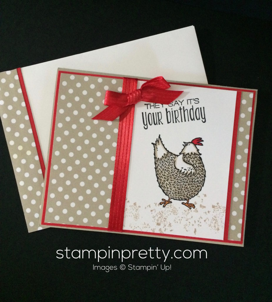 "Adorable ""Hey, Chick"" Birthday Card!"
