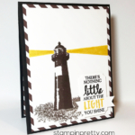 Inspired By Color:  High Tide Masculine Card