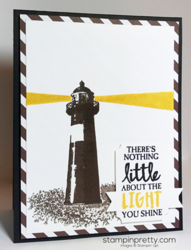 Stampin Up High tide Inspired by Color Masculine card Mary Fish Stampinup