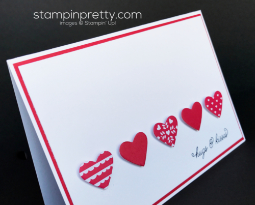 Stampin Up Sealed with Love Valentine card Mary Fish Stampinup
