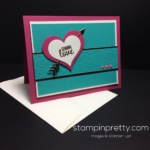 Inspired by Color:  Love Card Idea