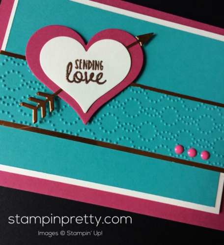 Stampin Up Sealed with Love Valentine cards idea - Mary Fish stampinup