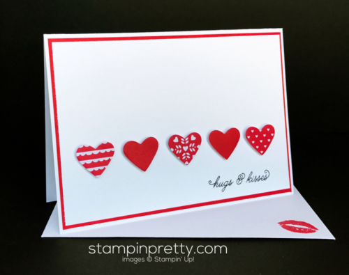 Stampin Up Sending with Love Suite Love card ideas Mary Fish Stampinup