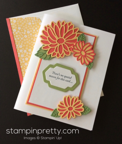 Stampin Up Special Reason Love and Friendship card idea - Mary Fish stampinup