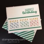 Sweet Candles Birthday Card Idea