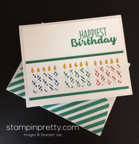 Stampin Up Window Box Birthday Card - Mary Fish stampinup
