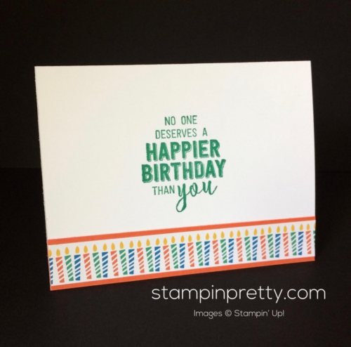 Stampin Up Window Box Birthday card idea - Mary Fish stampinup