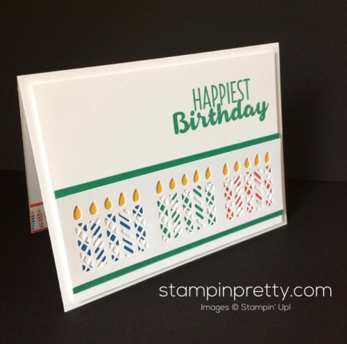 Stampin Up Window Box Birthday cards idea - Mary Fish stampinup