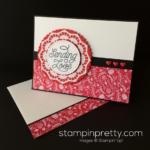 Designer Tin of Cards Valentine