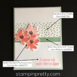 Simple & Pretty Avant Garden Thank You Card