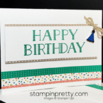 Stampin' Up! Party Animal Masculine Card!