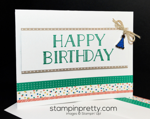 Stampin Up Big on Birthdays Party Animal Suite Birthday cards Mary Fish Stampinup SUjpg