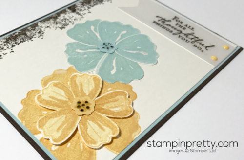 Stampin Up Bunch of Blossoms Friendship card Mary Fish Stampinup