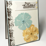 Inspired by Color Bunch of Blossoms Thank You Card