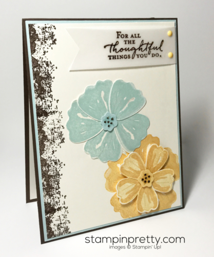 Stampin Up Bunch of Blossoms Inspired By Color Mary Fish Stampinup