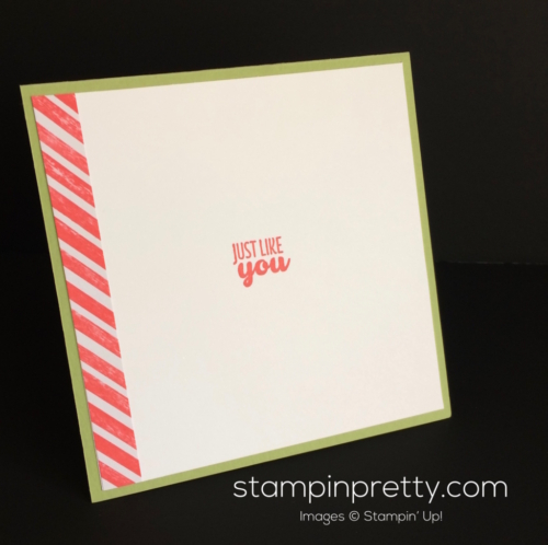 Stampin Up Cool Treats Just Because cards ideas - mary Fish stampinup