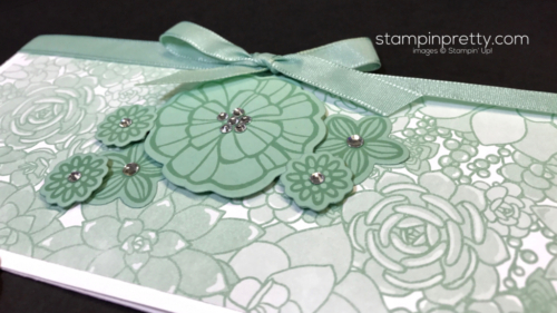Stampin Up Falling Flowers May Flowers Framelits Dies Mary Fish Stampinup