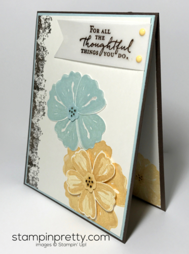 Stampin Up Inspired by Color Bunch of Blossoms Mary Fish Stampinup