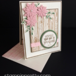 Inspired by Color – Sweet & Rustic Birthday Card