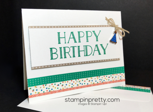 Stampin Up Party Animal Suite Big on Birthdays Mary Fish Stampinup SU