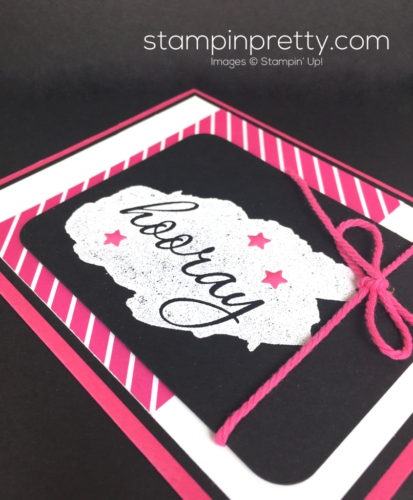 Stampin Up Reverse Words Congratulations Card Ideas by Mary Fish StampinUp