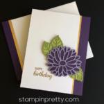 Stylish Stems Birthday Card Idea