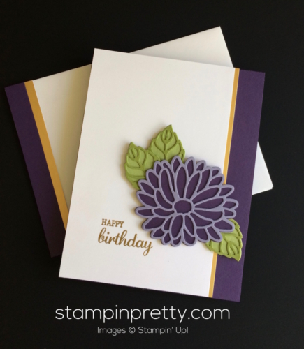 Stampin Up Stylish Stem Birthday card idea - Mary Fish stampinup