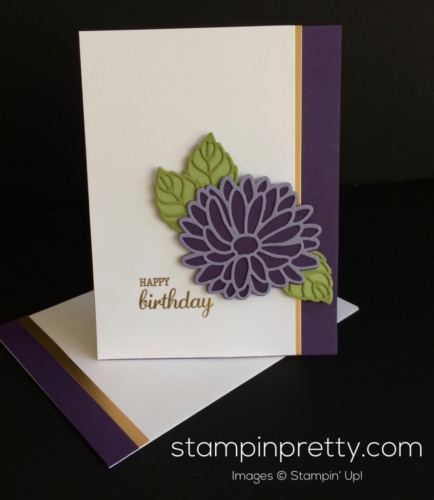 Stampin Up Stylish Stems Birthday Card - Mary Fish stampinup