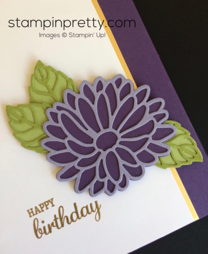 Stampin Up Stylish Stems Birthday Card ideas - Mary Fish stampinup