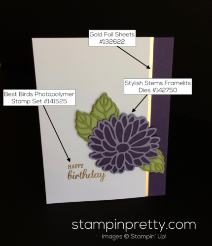 Stampin Up Stylish Stems Birthday Cards Ideas - Mary Fish stampinup'