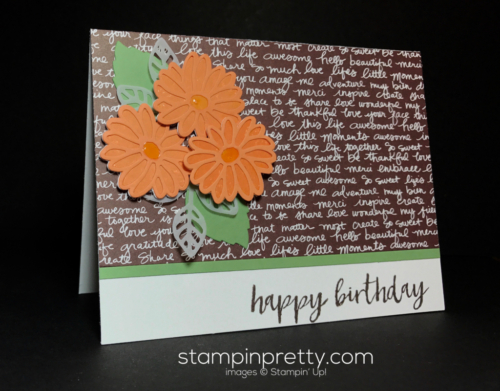 Stampin Up Stylish Stems Special Reason Milestone Moments Mary Fish Stampinup SU